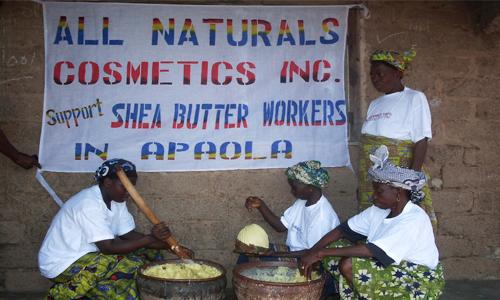 Shea Butter making process
